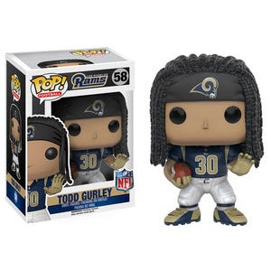 Funko Pop! NFL #58 TODD GURLEY Blue Jersey (Rams) - Brads Toys