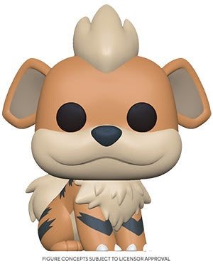 Pop! Games GROWLITHE (Pokemon S3)(Available for Pre-Order) - Brads Toys