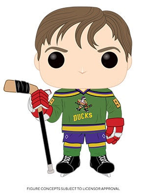Pop! Disney ADAM BANKS (Mighty Ducks)(Available for Pre-Order) - Brads Toys