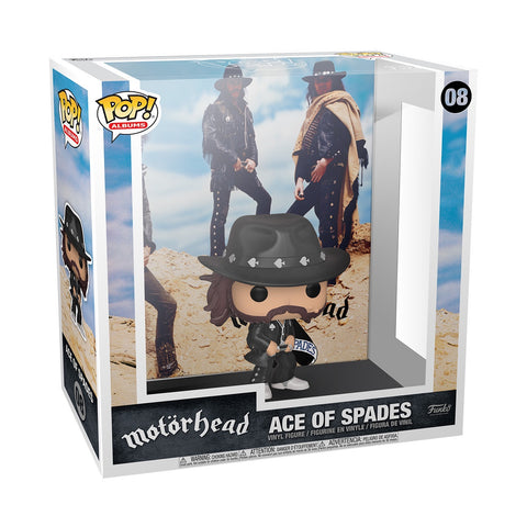 Pop! Albums ACE of SPADES (Motorhead)(Available for Pre-Order)