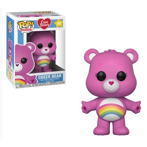 Funko Pop! Animation #351 CHEER BEAR (Care Bears) - Brads Toys