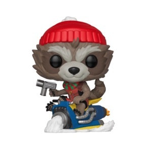Funko Pop! Marvel #531 ROCKET (Holiday) - Brads Toys