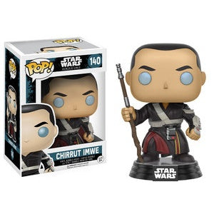 Funko Pop! Star Wars #140 CHIRRUT IMWE (Rogue One) - Brads Toys