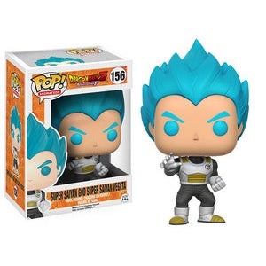 Funko Pop! Animation #156 SUPER SAIYAN GOD SUPER SAIYAN VEGETA (Dragonball Z Resurrection F)