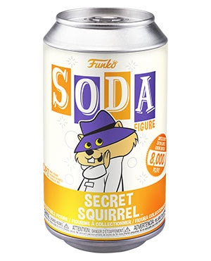 Vinyl SODA Secret Squirrel w/Chase Variant (Available for Pre-Order)