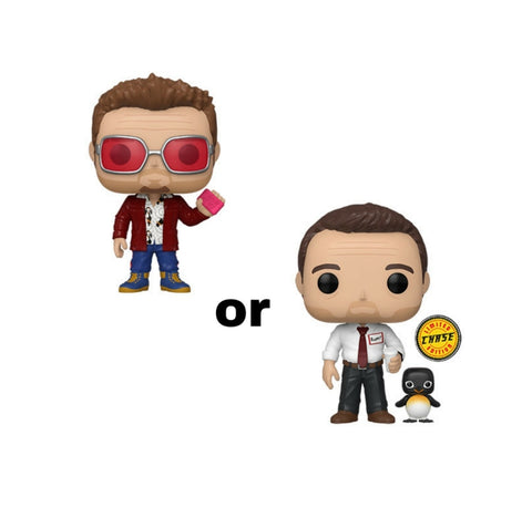Pop! Movies TYLER DURDEN w/Chase (Available for Pre-Order) - Brads Toys