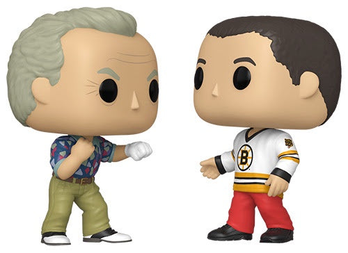 Funko Pop! Movies HAPPY & Bob Barker 2-Pack (Happy Gilmore)(Available for Pre-Order) - Brads Toys