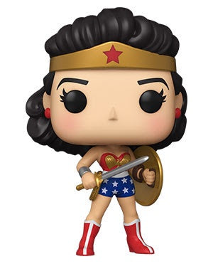 Pop! Hereos WONDER WOMAN Challenge of the Gods (80th Anniversary)(Available for Pre-Order)