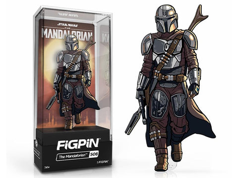 FG1031 Star Wars: The Mandalorian FiGPiN 3-Inch  Enamel Pin
