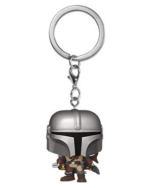 Pop! Keychain THE MANDALORIAN (the Mandalorian)(Available for Pre-Order)