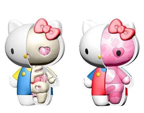 Sanrio Kaitai Fantasy HELLO KITTY X-Ray Mini Statue