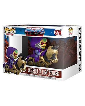 Pop! Rides SKELETOR w/NIGHT STALKER (Masters of the Universe)(Available for Pre-Order)