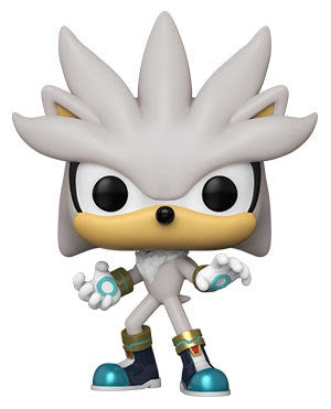 Pop! Games SILVER the HEDGEHOG (Sonic 30th)(Available for Pre-Order)