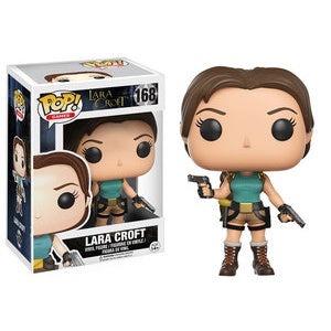 Funko Pop! Games #168 LARA CROFT Classic (Tomb Raider) - Brads Toys