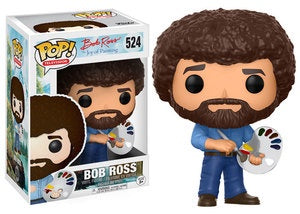 Funko Pop! Television #524 BOB ROSS (The Joy of Painting) - Brads Toys