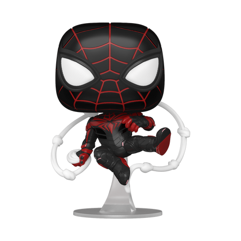 Pop! Marvel Miles Morales Advanced Tech Suit (Spider-Man)(Available for Pre-Order)