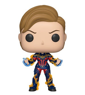 Funko Pop! Marvel CAPTAIN MARVEL w/New Hair (Endgame) - Brads Toys