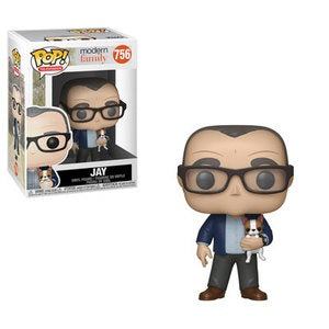 Funko Pop! Television #756 JAY (Modern Family) - Brads Toys