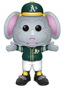 Funko Pop! MLB Mascot STOMPER (Athletics) - Brads Toys