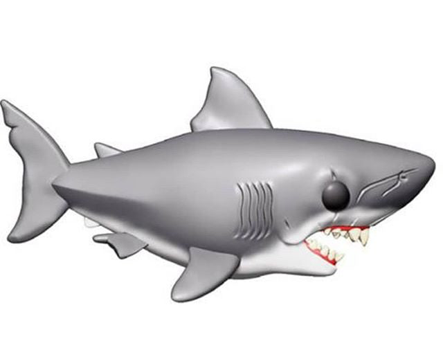 "Funko Pop! Movies #758 GREAT WHITE SHARK 6"" (Jaws) - Brads Toys"