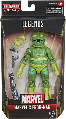Spider-Man Marvel Legends 6-Inch Action Figures Wave 1 #HSF0170A MARVEL'S FROG MAN