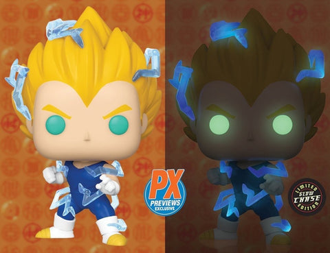 Funko Pop! Animation SS2 Vegeta w/Chase Glow Variant