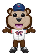 Funko Pop! MLB Mascot T.C. Bear (Twins) - Brads Toys