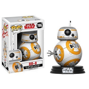 Funko Pop! Star Wars #196 BB-8 (The Last Jedi) - Brads Toys