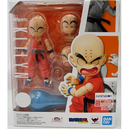 S.H. Figuarts KLILYN Kid Krillin (Dragon Ball) - Brads Toys