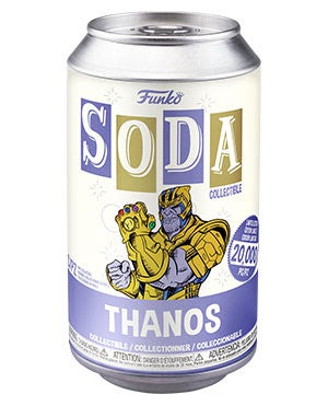VInyl Soda THANOS w/Chase (Marvel)(Available for Pre-Order)