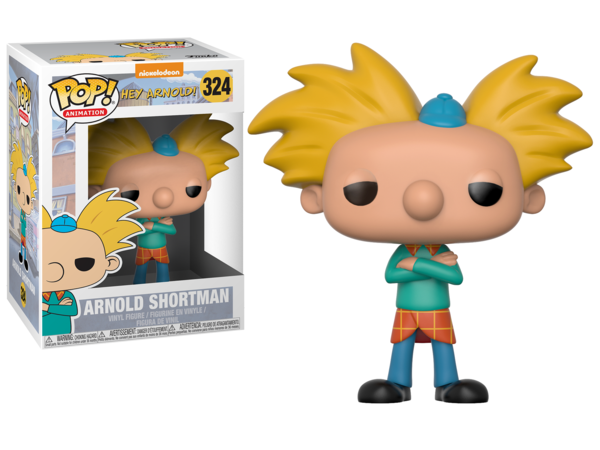Funko Pop! Animation #324 ARNOLD SHORTMAN (Hey Arnold!) - Brads Toys