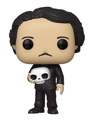 Funko Pop! Icons EDGAR ALLAN POE w/SKULL (Available for Pre-Order) - Brads Toys