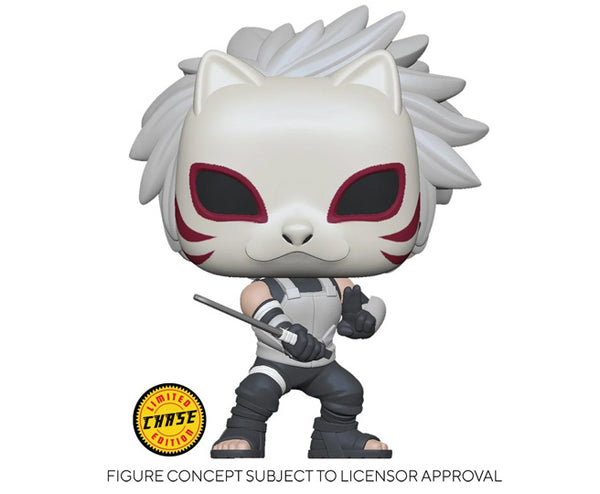 Pop! Animation KAKASHI ANBU w/Chase Variant (Naruto)(AAA Exclusive)(Available for Pre-Order)
