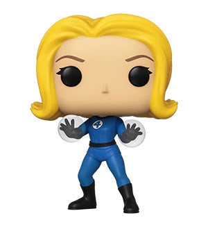 Funko Pop! Marvel INVISIBLE GIRL (Fantastic Four) - Brads Toys
