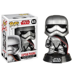 Funko Pop! Star Wars #65 CAPTAIN PHASMA (The Last Jedi) - Brads Toys