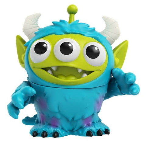 Pixar Remix ALIEN as SULLY (Monsters Inc)(Toy Story)