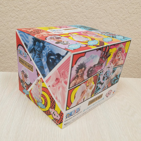 One Piece LOGBOX RE BIRTH Mini Statue Sealed Box of 4