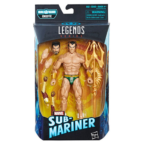 Marvel Legends SUB-MARINER Okoye Series