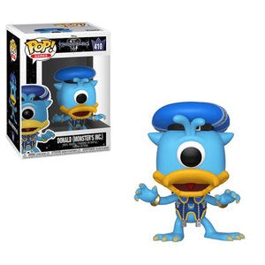 Funko Pop! Games #410 DONALD Monsters, Inc. (Kingdom Hearts III) - Brads Toys