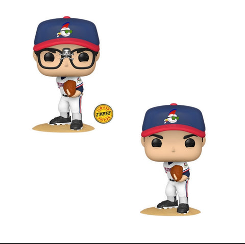 Funko Pop! Movies RICKY VAUGHN w/Chase Variant (Major League) - Brads Toys