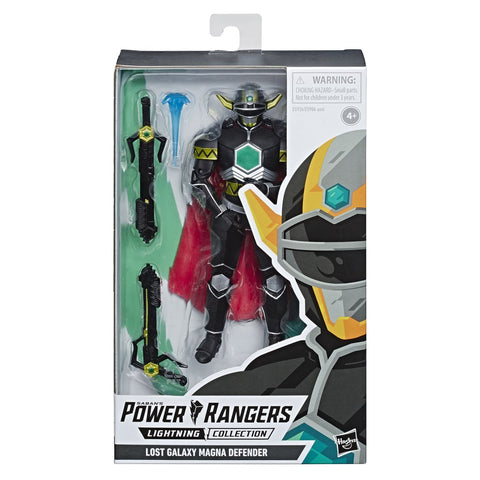 Power Rangers Lightning Collection LOST GALAXY MAGNA DEFENDER - Brads Toys