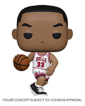 Pop! NBA Legends SCOTTIE PIPPIN (Chicago Bulls)(Available for Pre-Order)