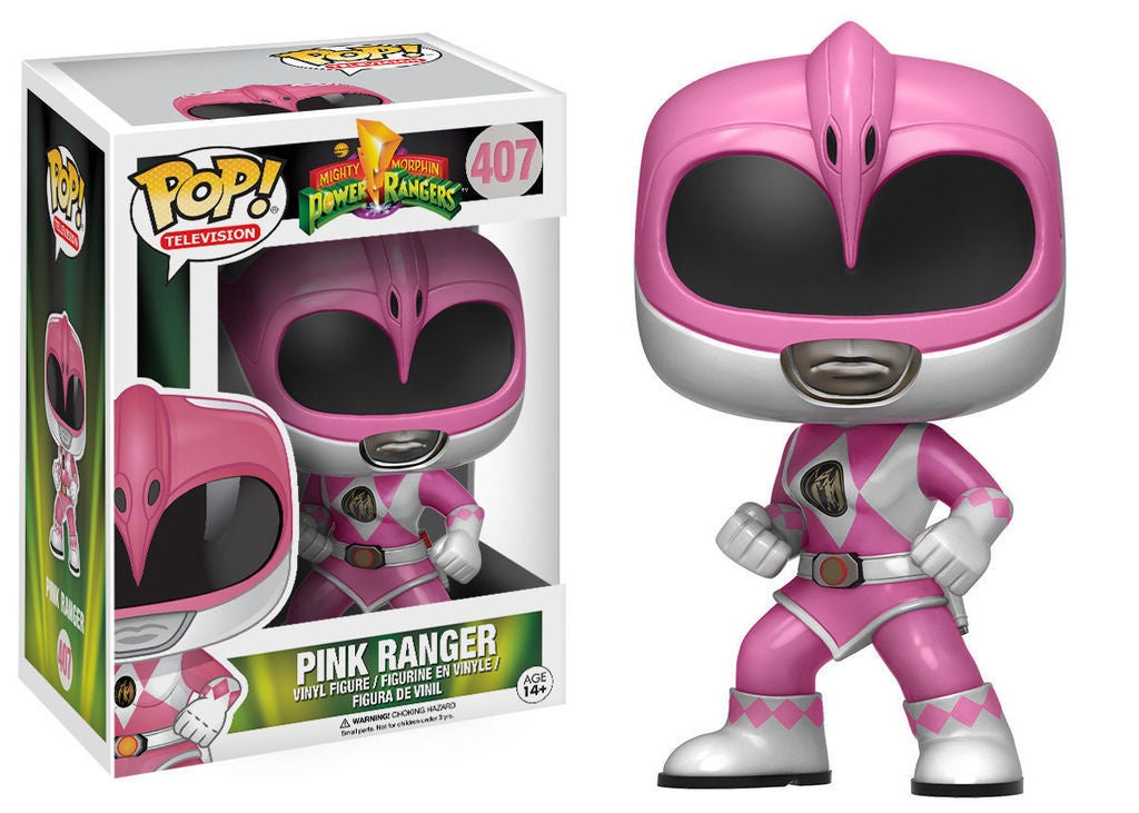 Funko Pop! Television #407 PINK RANGER (Mighty Morphin Power Rangers) - Brads Toys