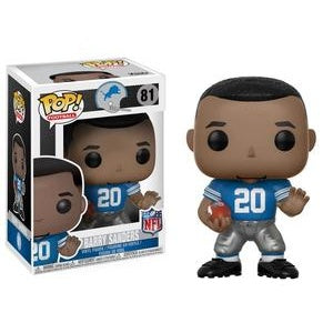 Funko Pop! Football #81 BARRY SANDERS (Lions) - Brads Toys