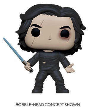 Pop! Star Wars BEN SOLO w/Blue Saber (SW Ep 9)(Available for Pre-Order)