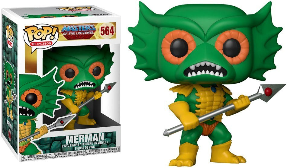 Funko Pop! Television #564 MERMAN (Masters of The Universe) - Brads Toys