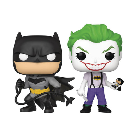 Pop! DC PX EXCLUSIVE 2-Pack WHITE KNIGHT JOKER (SDCC 2021)(Available for Pre-Order)