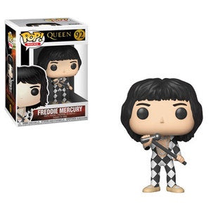 Funko Pop! Rocks FREDDY MERCURY Checkers (Queen) - Brads Toys