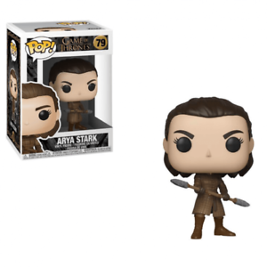 Funko Pop! Game of Thrones #79 ARYA STARK w/Spear - Brads Toys