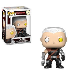 Funko Pop! Marvel #314 CABLE (Deadpool) - Brads Toys